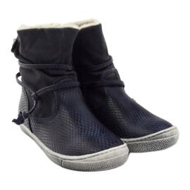 American Club Zimní boty, vysoké boty, tmavomodré, americké 16183 válečné loďstvo 4