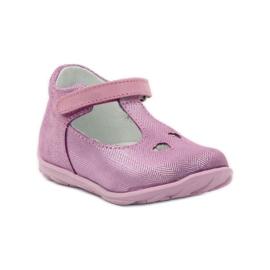 Ren But Ren obuv 1467 heather ballerinas růžový 1