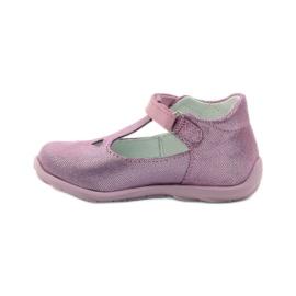 Ren But Ren obuv 1467 heather ballerinas růžový 2