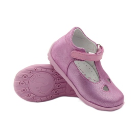 Ren But Ren obuv 1467 heather ballerinas růžový 3