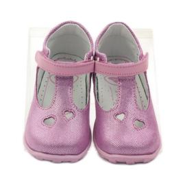 Ren But Ren obuv 1467 heather ballerinas růžový 4