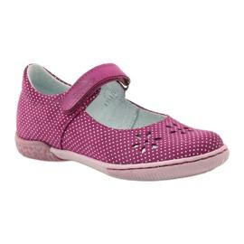 Dámské boty pro baleríny Ren But 3285 růžový bílá 1