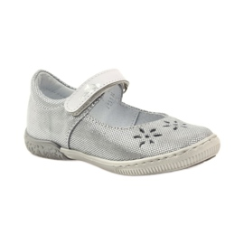 Dámské boty pro baleríny Ren But 3285 šedá 1