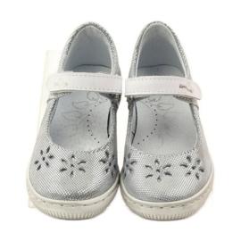 Dámské boty pro baleríny Ren But 3285 šedá 4
