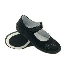 Balerína dívčí boty Ren But 4351 černá 3