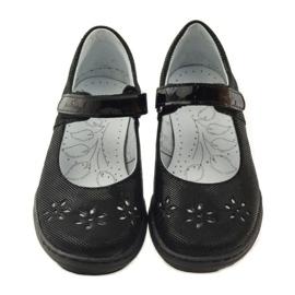 Balerína dívčí boty Ren But 4351 černá 4