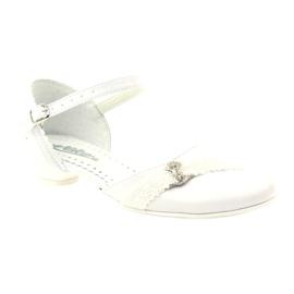 Zdvořilostní baletky Communion Miko 714 bílá 1