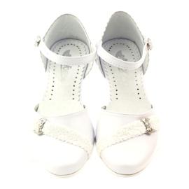 Zdvořilostní baletky Communion Miko 714 bílá 4