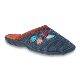 Befado barevné dámské boty pu 235D153 1