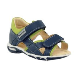 Velcro sandály Bartuś 137 námořní modrá 1