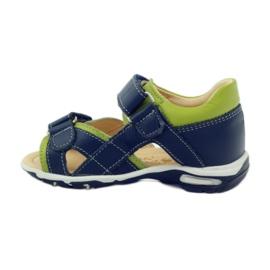 Velcro sandály Bartuś 137 námořní modrá 2