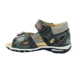 Velcro sandály Bartuś 119 tmavě šedá 2