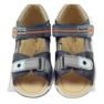 Velcro sandály Bartuś 119 tmavě šedá 4