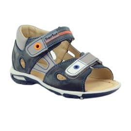 Velcro sandály Bartuś 119 tmavě šedá 1
