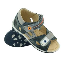 Velcro sandály Bartuś 119 tmavě šedá 3
