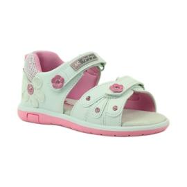 American Club Dětské sandály s americkou koženou vložkou 87285 1