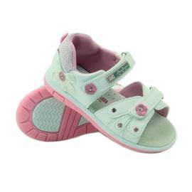 American Club Dětské sandály s americkou koženou vložkou 87285 3