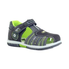 American Club Dětské sandály s americkou koženou vložkou 87290 1