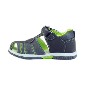 American Club Dětské sandály s americkou koženou vložkou 87290 2