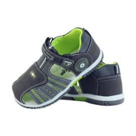 American Club Dětské sandály s americkou koženou vložkou 87290 3