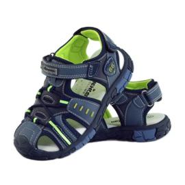American Club Dětské sandály s koženou vložkou American 93607 3