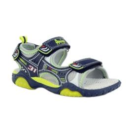 American Club Dětské boty sandály American 1702 tmavě modré 1