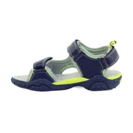 American Club Dětské boty sandály American 1702 tmavě modré 2