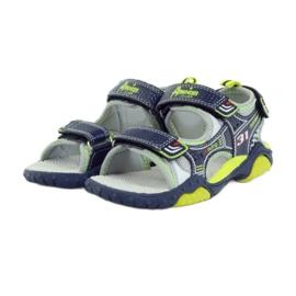 American Club Dětské boty sandály American 1702 tmavě modré 3