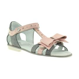 Sandály oblékají Bartek 36182 šedé 1