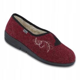 Befado dámské boty pu 940D355 červená 1