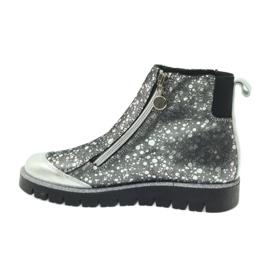 Boty boty izolované Bartek černá-stříbrná šedá 3