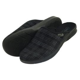 Pánské boty Befado 548m011 pantofle černá 4