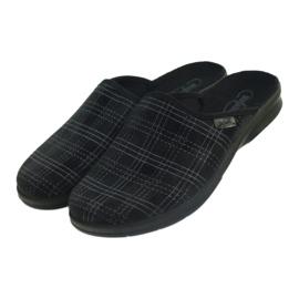 Pánské boty Befado 548m011 pantofle černá 3