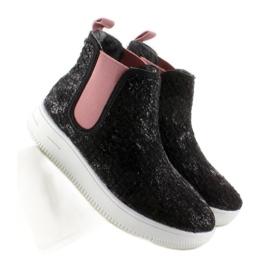 Dětská Jodhpur boty sportovní podešev černá 7