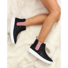 Dětská Jodhpur boty sportovní podešev černá 6