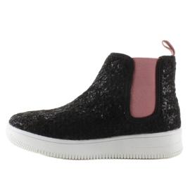 Dětská Jodhpur boty sportovní podešev černá 2