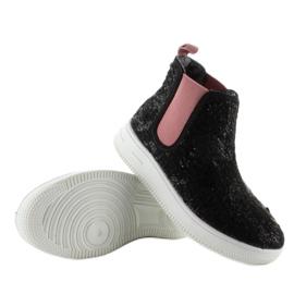 Dětská Jodhpur boty sportovní podešev černá 3