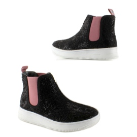 Dětská Jodhpur boty sportovní podešev černá 4