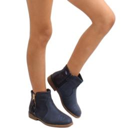 Kozačky boty K1647301 Marino válečné loďstvo 5