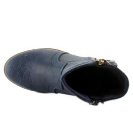 Kozačky boty K1647301 Marino válečné loďstvo 3