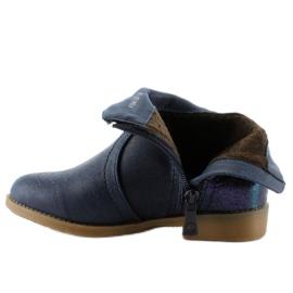 Kozačky boty K1647301 Marino válečné loďstvo 4