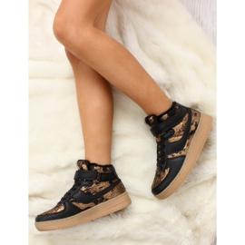 Dětská sportovní obuv izolovaná k1646103 Oro hnědý 4