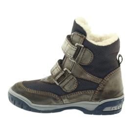 Bartuś Boote boty s membránou 006 okurkou béžový válečné loďstvo 2