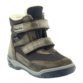 Bartuś Boote boty s membránou 006 okurkou béžový válečné loďstvo 1