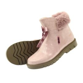American Club Americké boty boty zimní boty 18015 růžový 3