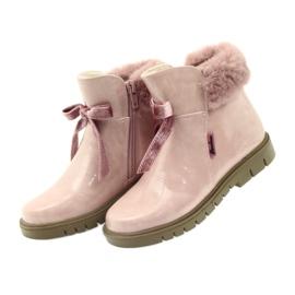 American Club Americké boty boty zimní boty 18015 růžový 2