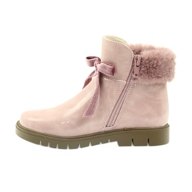 American Club Americké boty boty zimní boty 18015 růžový 1