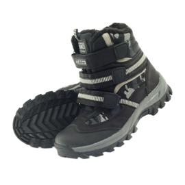 American Club Americké boty zavádějí zimní boty 87433 černé bílá černá šedá 4