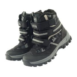 American Club Americké boty zavádějí zimní boty 87433 černé bílá černá šedá 3