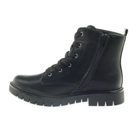 American Club Super zimní boty amerických pracovníků černá žlutý červená 2
